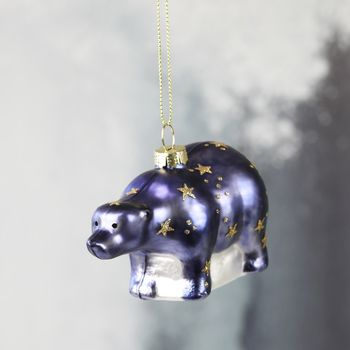 Starry Bear Bauble