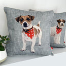 Jack Russell Feature Cushion
