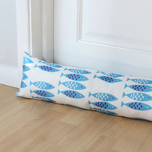Newlyn Fish Draught Excluder - door stops