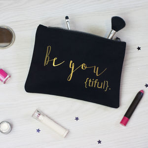 Be You Make Up Bag - make-up bags
