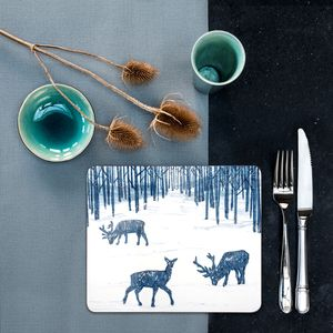 Woodland Walk Placemat Set Four