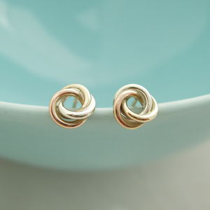 Eternity Knot Earrings - earrings