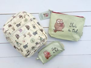 Little Owl Back Pack And Pencil Case Gift Set