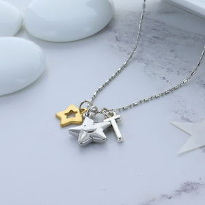 Kids Personalised Star Necklace