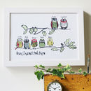 Owl 'Our Grandchildren' Print