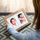 Personalised Our Little Miracle New Baby Photo Frame
