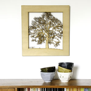 Woodcut Tree Wall Art - what's new