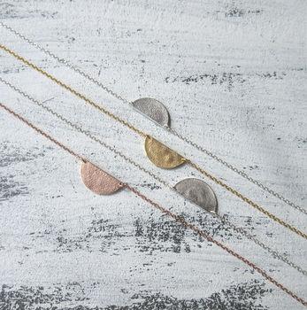 Selene Half Moon Necklace