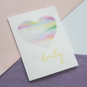New Baby Greetings Card - new baby cards