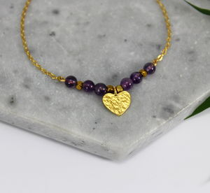 Children's 24ct Vermeil Gold Heart Charm Bracelet - children's accessories