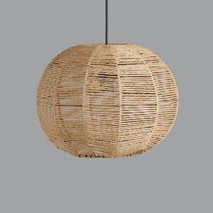 Rope Pendant Light Or Lampshade Number Three