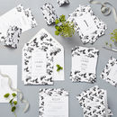 Flower Shadows Wedding Stationery Sample Pack