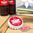 Personalised Christmas Bottle Opener