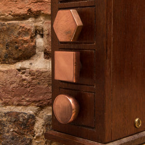 Claud Copper Metal Knobs - home accessories