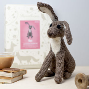 Hare Crochet Craft Kit - sewing kits