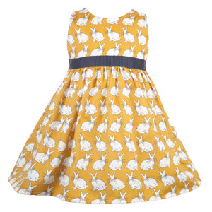 Martha Mustard Rabbits - dresses