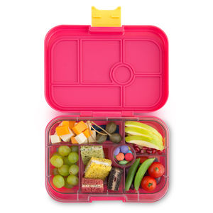 Yumbox Classic Bento Lunchbox For Children In Pink - lunch boxes & bags