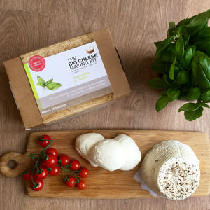 Make Your Own Mozzarella And Ricotta Cheese Making Kit - savouries