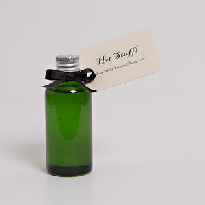 Hot Stuff Back And Shoulder Oil - bathroom