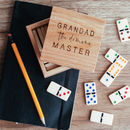 Personalised Dominoes Box Set