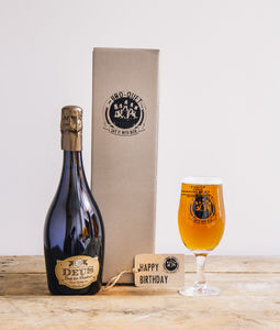 Luxury Champagne Beer Gift
