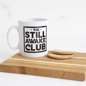 'Still Awake Club' New Parent Mug