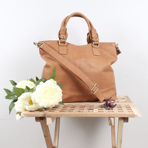 Clifton Classic Leather Tote
