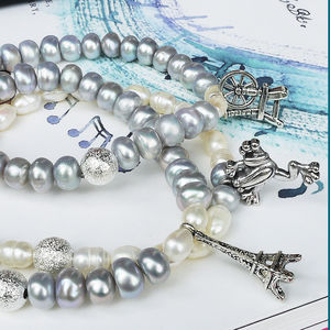 Fairytale Pearl Charm Bracelets - women's jewellery