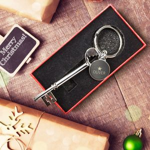 Personalised Christmas Keyring - whats new