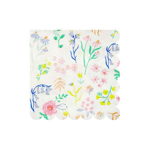 Wildflower Print Napkins - decoration