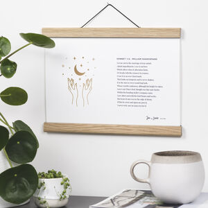 Custom Landscape Print Of Your Special Words