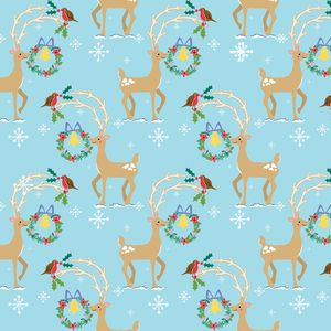 'Dove Wrapping Paper', 'Deer Wrapping Paper' - cards & wrap