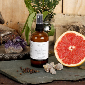 Grapefruit, Orange, Pepper And Palmarosa Awaken Mist