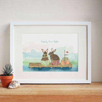 'Happily Ever Rafter' Print