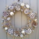 Touch Of Frost Wreath For Home Wall And Door Decoration