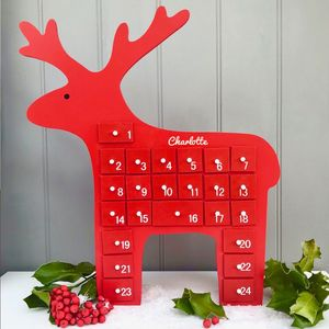 Reindeer Wooden Advent