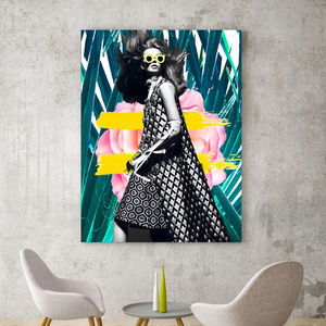 Runway, Canvas Art - modern & abstract
