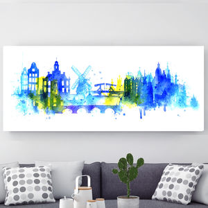 Amsterdam, Canvas Art