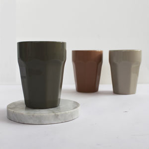 Stone Ceramic Cup - winter sale