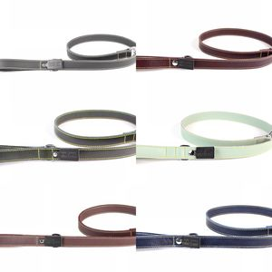 Leather Dog Lead - dogs