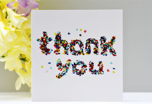 Thank You Butterfly Card - thank you cards