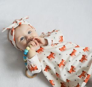 Autumnal Sleepy Fox Baby And Toddler Dress - cosy clothing