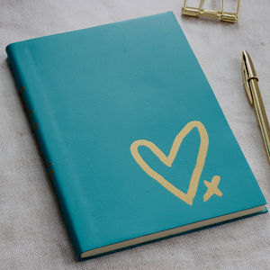 Personalised Leather Hopes And Dreams Journal