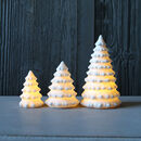 White Ceramic Tree Light Decoration