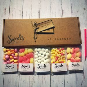 Teacher Letterbox Sweets Gift Box - what's new