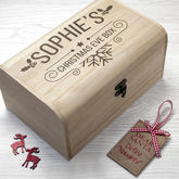 Personalised Christmas Eve Chest - christmas