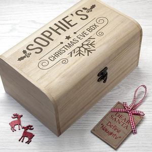 Personalised Christmas Eve Chest - whatsnew