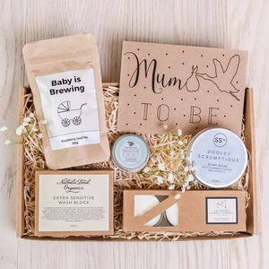 'Mum To Be' Letterbox Gift Set - more