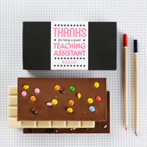 Thanks Teacher / Teaching Assistant Chocolate Gift Set - chocolates & confectionery