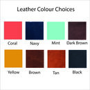 leather colour choices